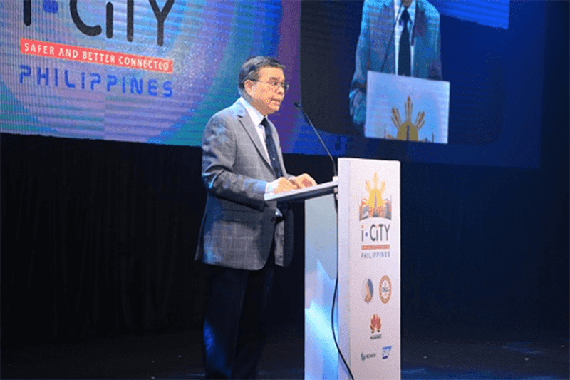 Secretary Rodolfo Salalima DICT presented a roadmap for the i-CiTY