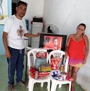 SOLIDARIEDADE: Em Apicum-Açu, Sindicato dos Servidores faz campanha para ajudar Maria de Fátima, que teve bexiga perfurada durante procedimento cirúrgico.