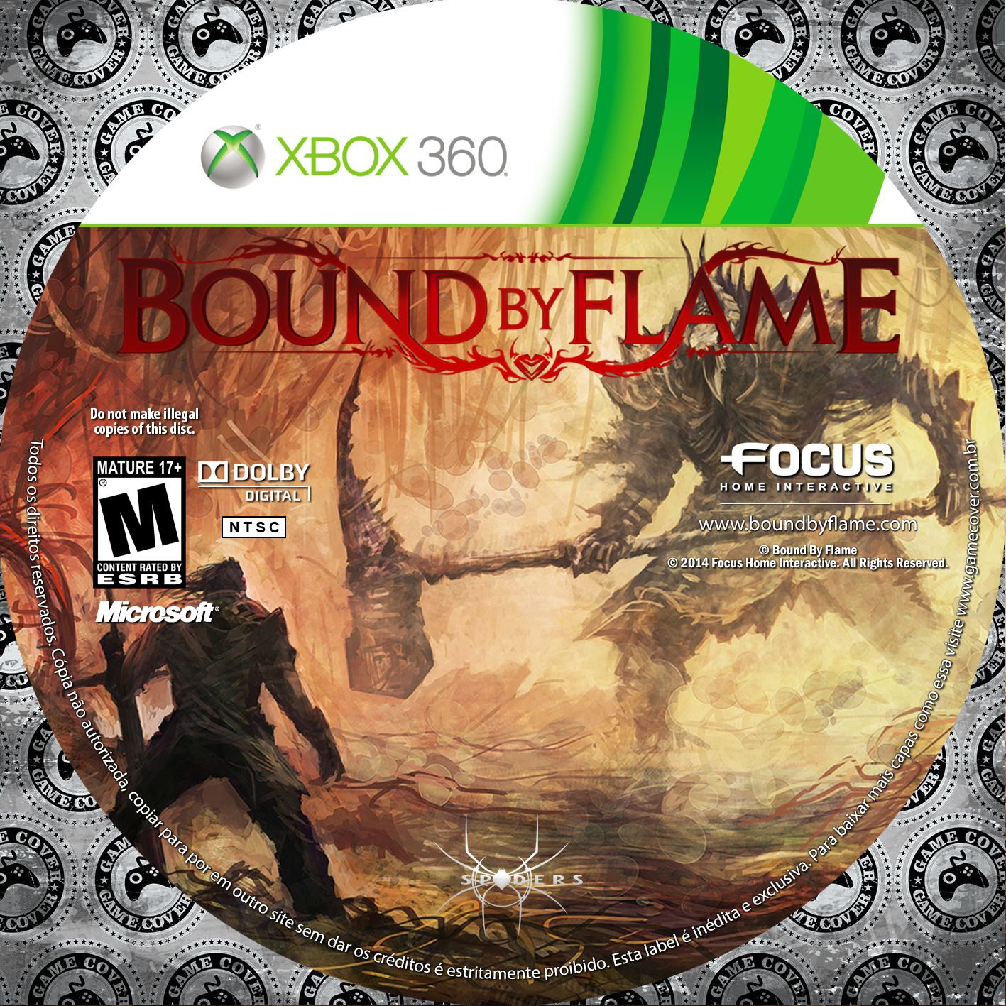Label Bound By Flame Xbox 360 [Exclusiva]