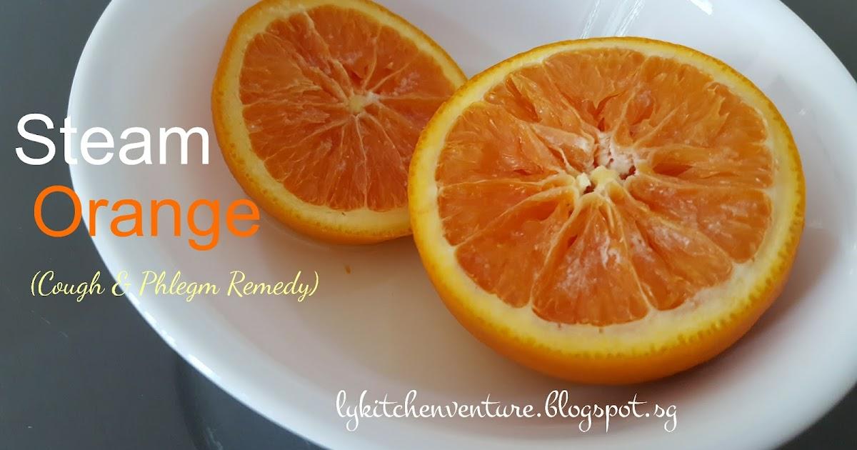 Ly S Kitchen Ventures Steam Orange Cough Amp Phlegm Remedy