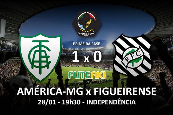 Veja o resumo da partida com o gol e os melhores momentos de América-MG 1x0 Figueirense pela 1ª rodada da Copa Sul-Minas-Rio 2016.