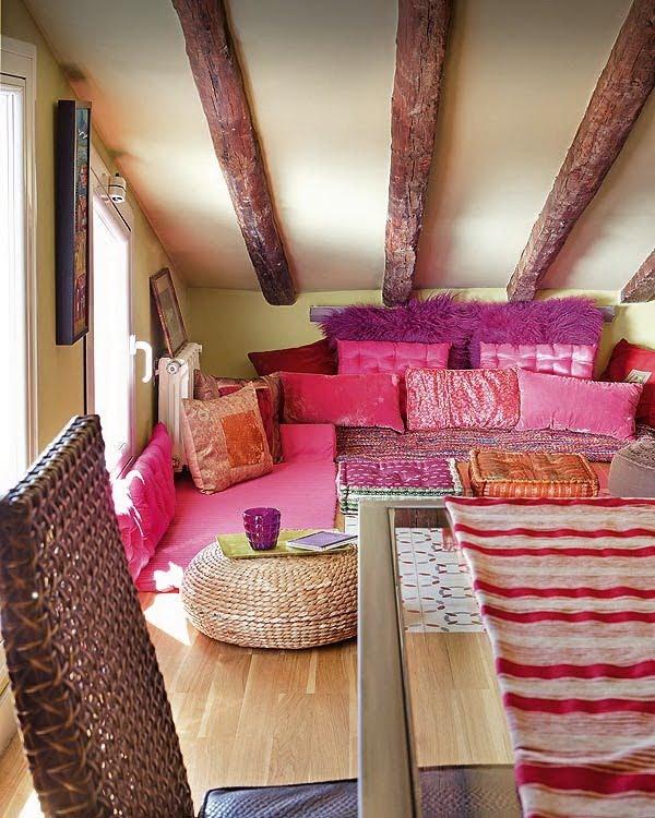Bonito bueno barato el estilo bohemio en decoraci n parte v - Cojines gigantes para el suelo ...