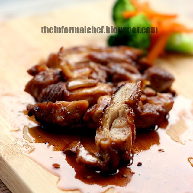 The Informal Chef: Easy Teriyaki Chicken Recipe 简单日式照烧鸡