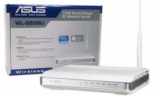 ASUS WL-520gU Manual