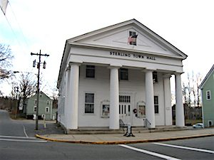 Sterling, Mass. Town Hall (Image Credit: Doug Kerr | Flickr) Click to Enlarge.
