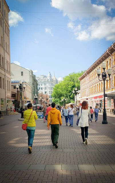Strada Arbat; Moscova, Rusia