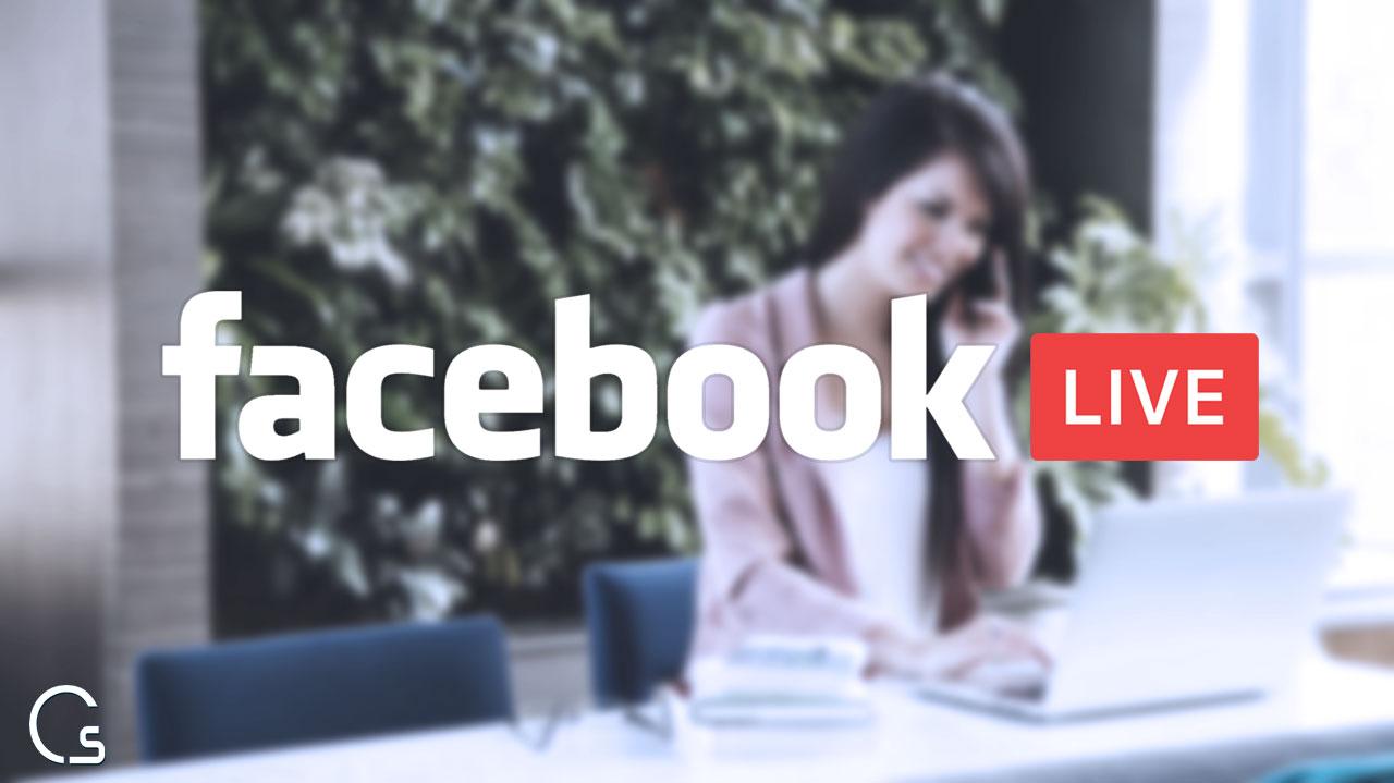 كيف عمل بث مباشر على الفيس بوك باستخدام الكمبيوتر