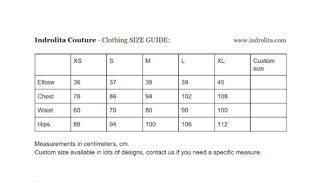Size Guide and Taking Measurements