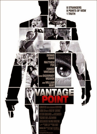Poster Of Vantage Point In Dual Audio Hindi English 300MB Compressed Small Size Pc Movie Free Download Only At worldfree4u.com