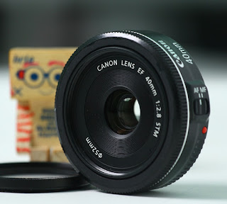 Lensa Canon 40mm f2.8 STM 2nd