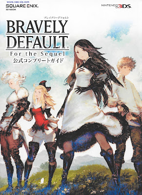 Bravely Default For the Sequel Official Complete Guide