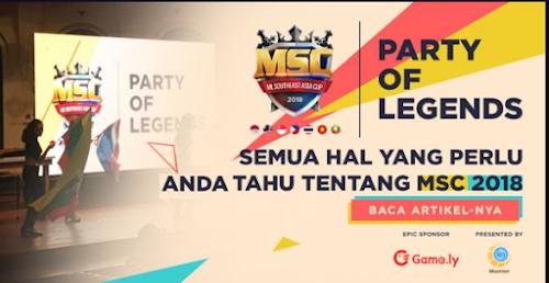 MSC 2018 Akan Segera Hadir Di Asia Tenggara
