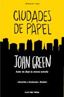 Ciudades De Papel, de John Green