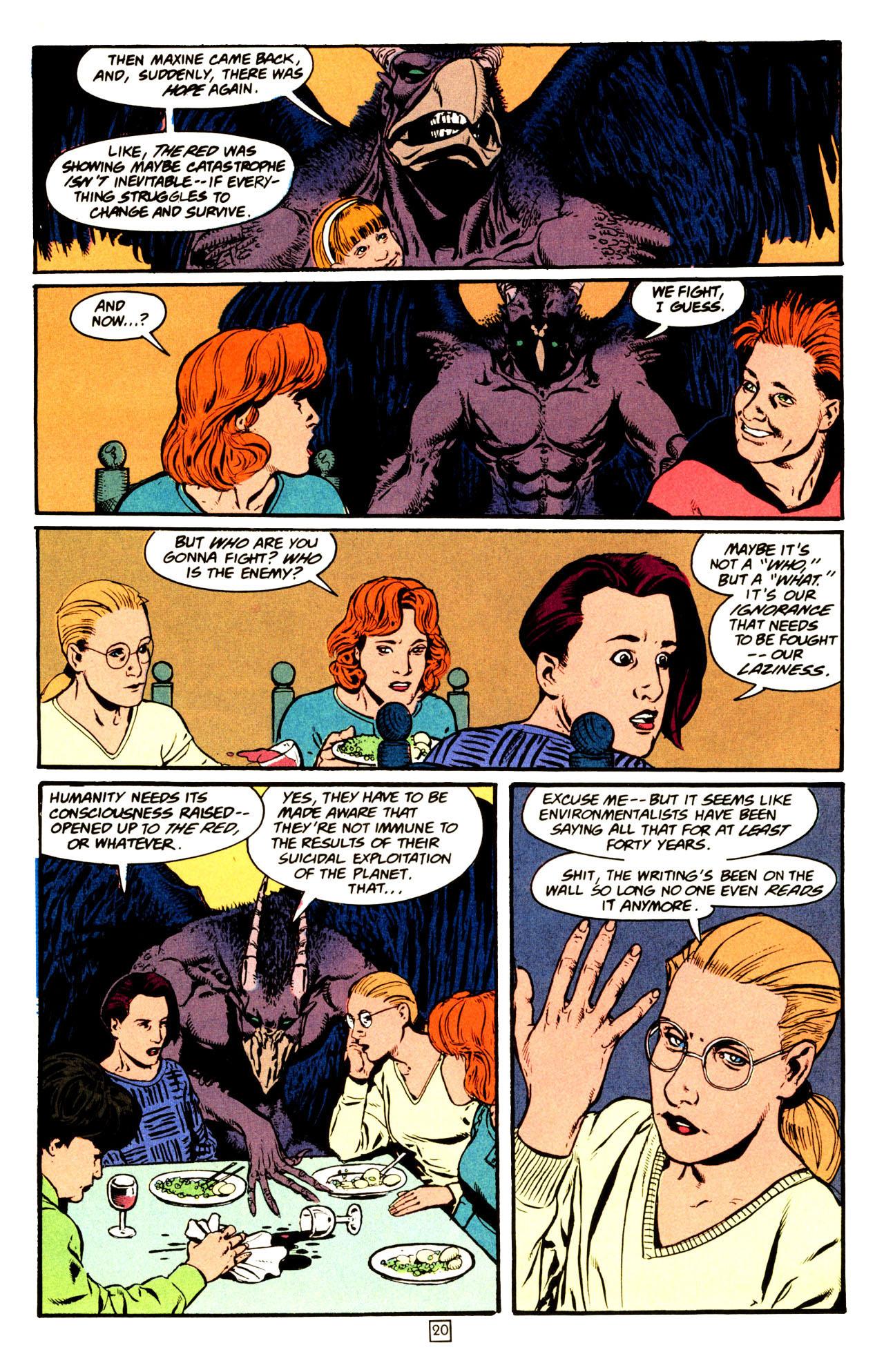 Read online Animal Man (1988) comic -  Issue #72 - 21