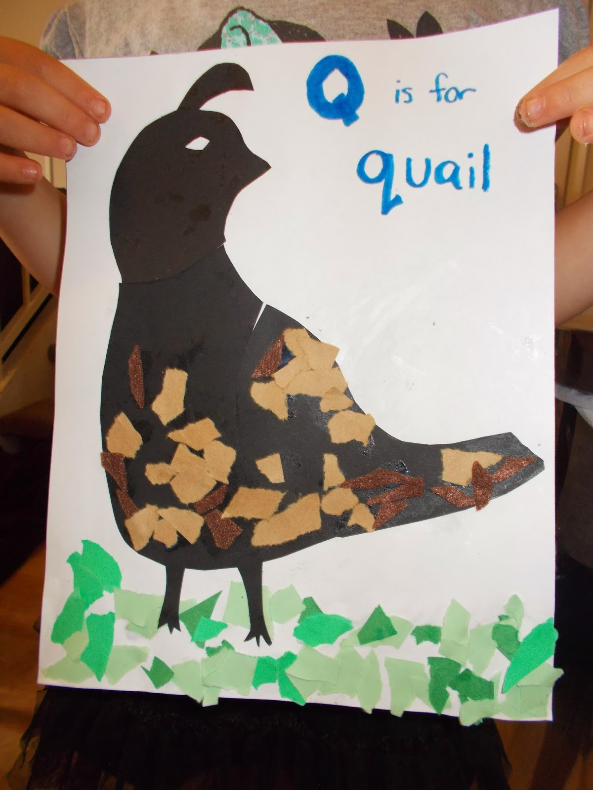 B Is For Bissonnette Letter Q Projects