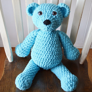 Squishy Crochet Bear by Over The Apple Tree