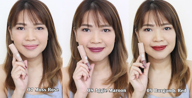 a photo of Cathy Doll Nude Me Liquid Lip Matte Review (ALL 9 Shades)