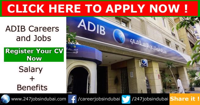 Latest Jobs at ADIB Careers