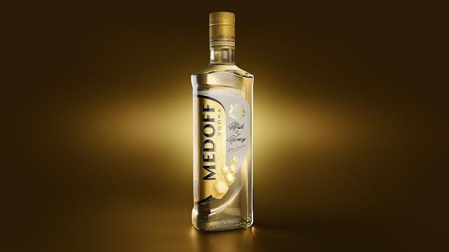 Chai-lo-thuy-tinh-dung-mat-ong-Medoff-Milk-Honey-Vodka-duoc-thiet-boi-Platon-Ivantsov