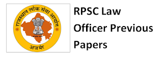 RPSC Law Officer Previous Year Question Papers Download