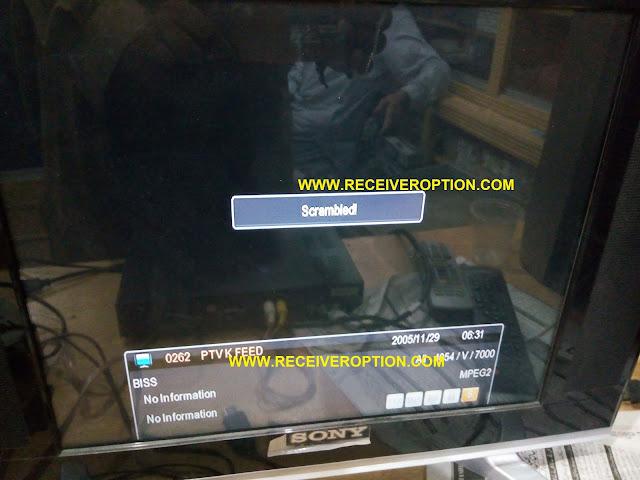 ECHOLINK 6262 PATREN HD RECEIVER BISS KEY OPTION