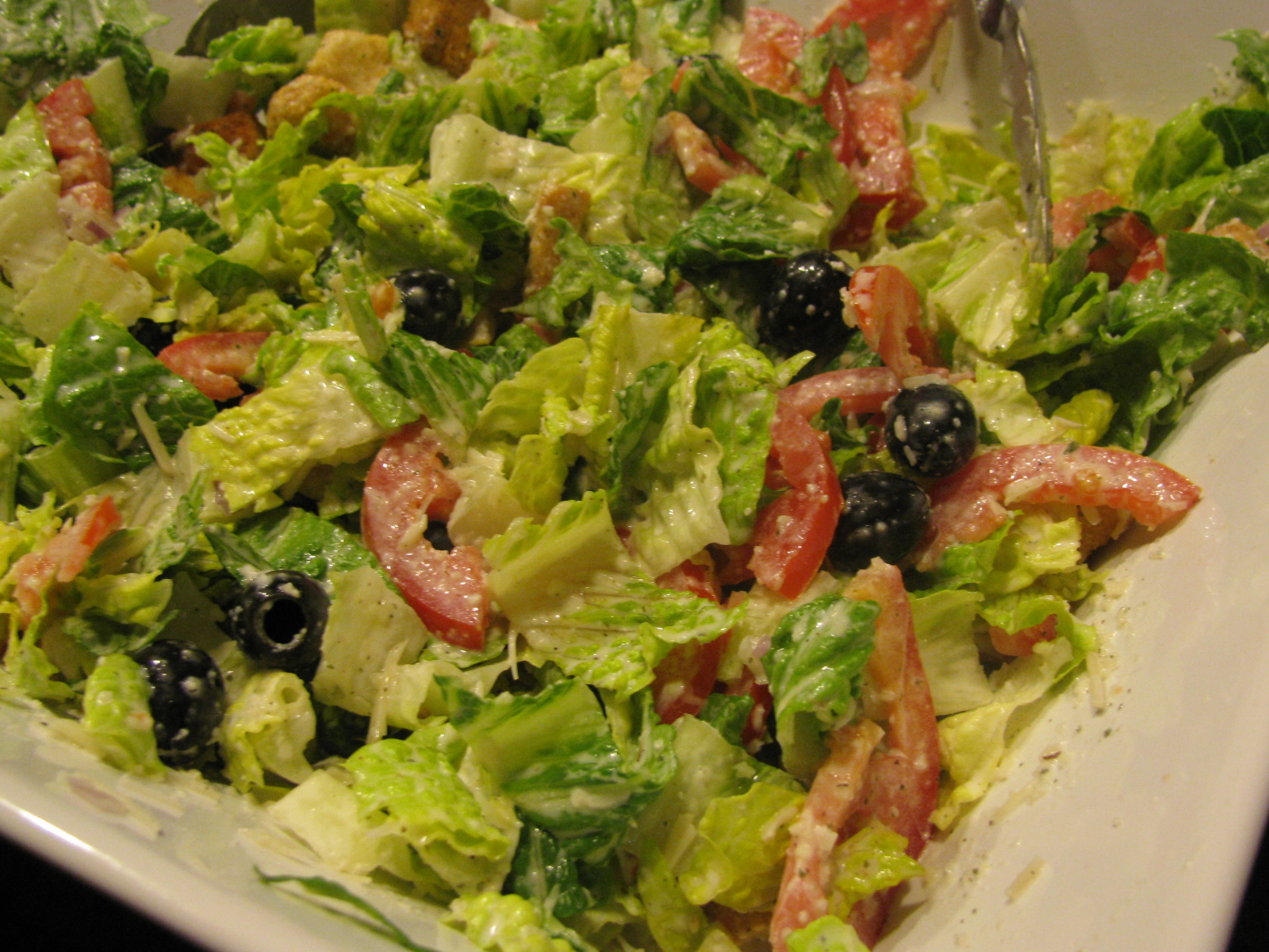 Anissa 39 S Kitchen Olive Garden Style Salad