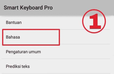 Cara Pasang Emoji pada Smart Keyboard Pro