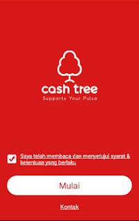 Cara Daftar dan Mendapatkan PULSA GRATIS di Cashtree