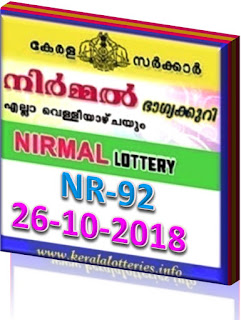kerala lottery result from keralalotteries.info 26/10/2018, kerala lottery result 26.10.2018, kerala lottery results 26-10-2018, nirmal lottery NR 92 results 26-10-2018, nirmal lottery NR 92, live nirmal   lottery NR-92, nirmal lottery, kerala lottery today result nirmal, nirmal lottery (NR-92) 26/10/2018, NR 92, NR 92, nirmal lottery NR92, nirmal lottery 26.10.2018,   kerala lottery 26.10.2018, kerala lottery-results, keralagovernment, nirmal lottery result, kerala lottery result nirmal today, kerala lottery nirmal today result,