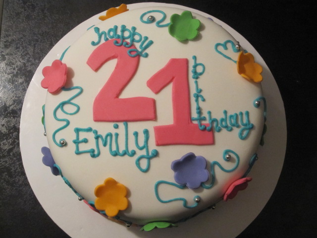 Brokenhanded Birthday Cake Emily