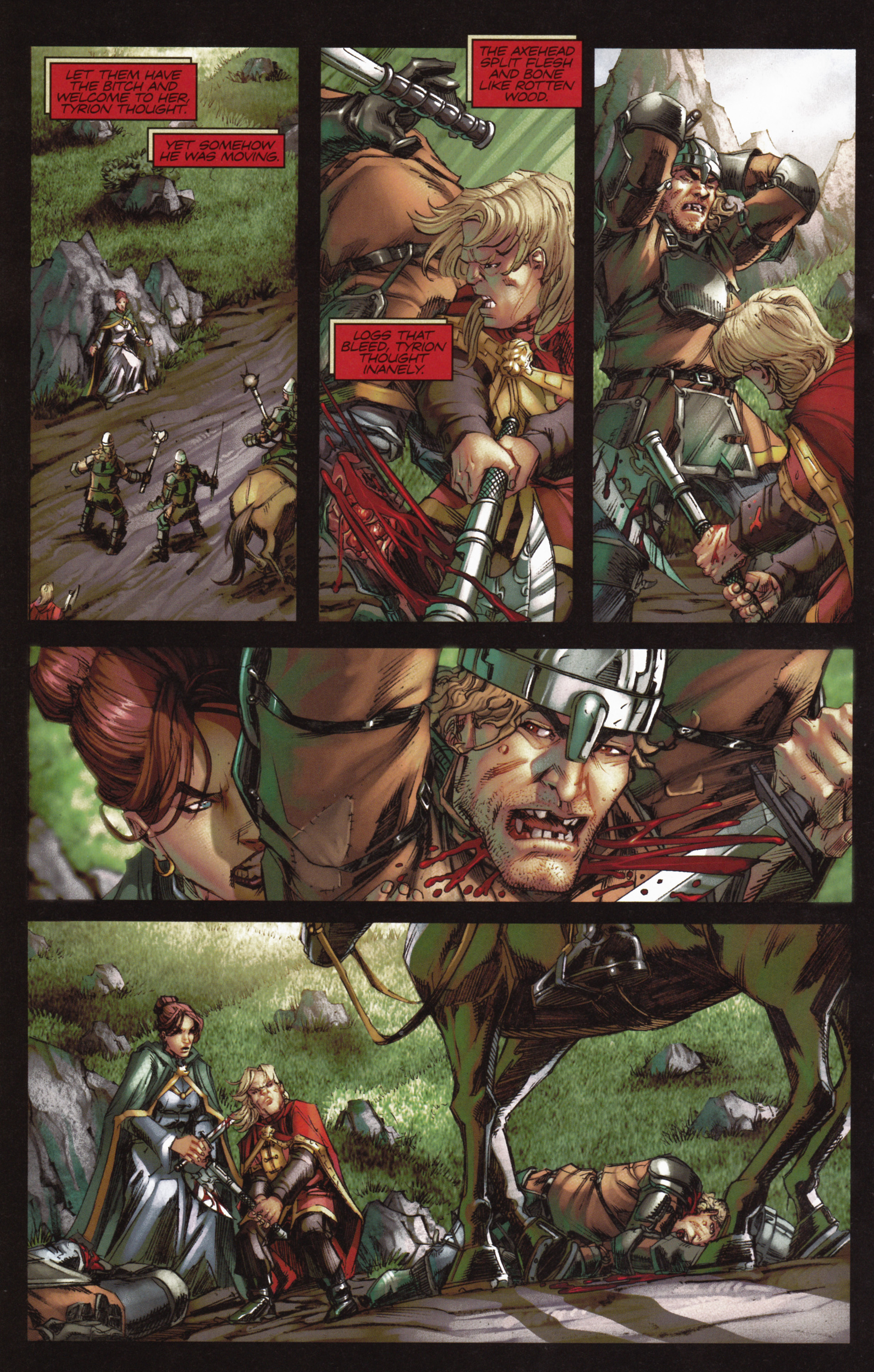 Read online A Game Of Thrones comic -  Issue #10 - 12