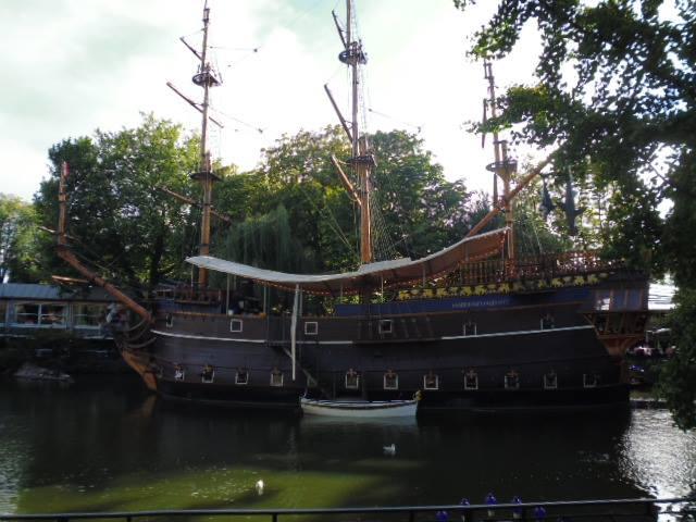 Restaurante pirata en el Tívoli