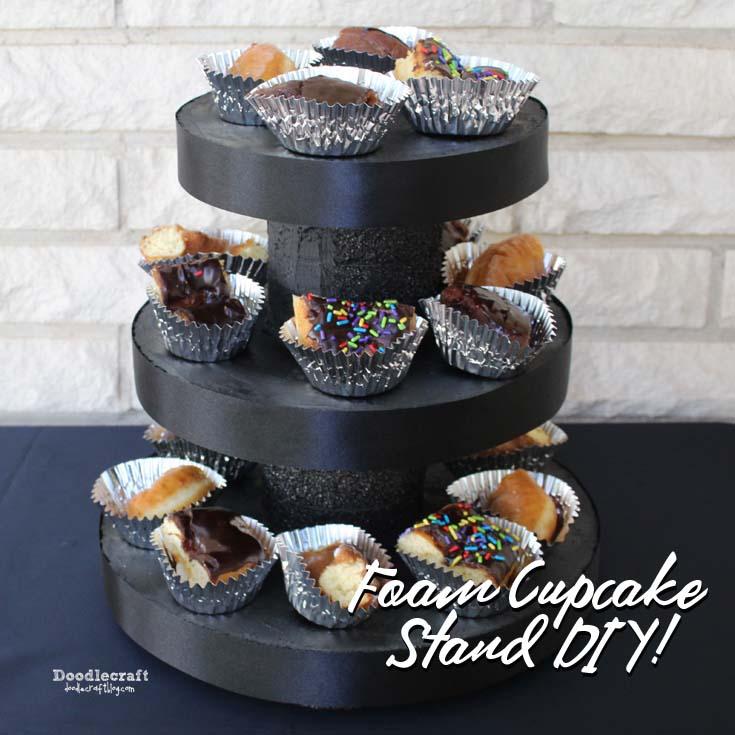 Doodlecraft Foam Cake Stand Diy
