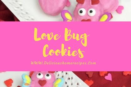 Love Bug Cookies #valentine #cookies