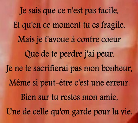 Texte D Excuse Amour
