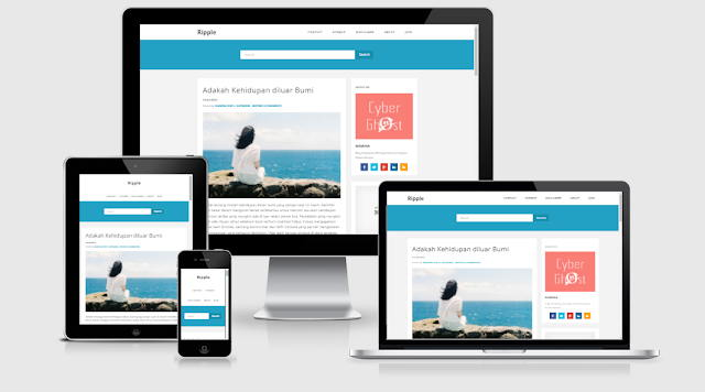 Download the Ripple Clean Redesign Template
