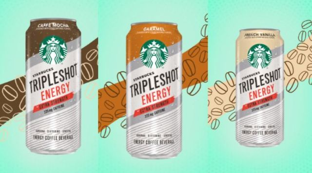 Starbucks Releases New Tripleshot Energy Canned Beverages