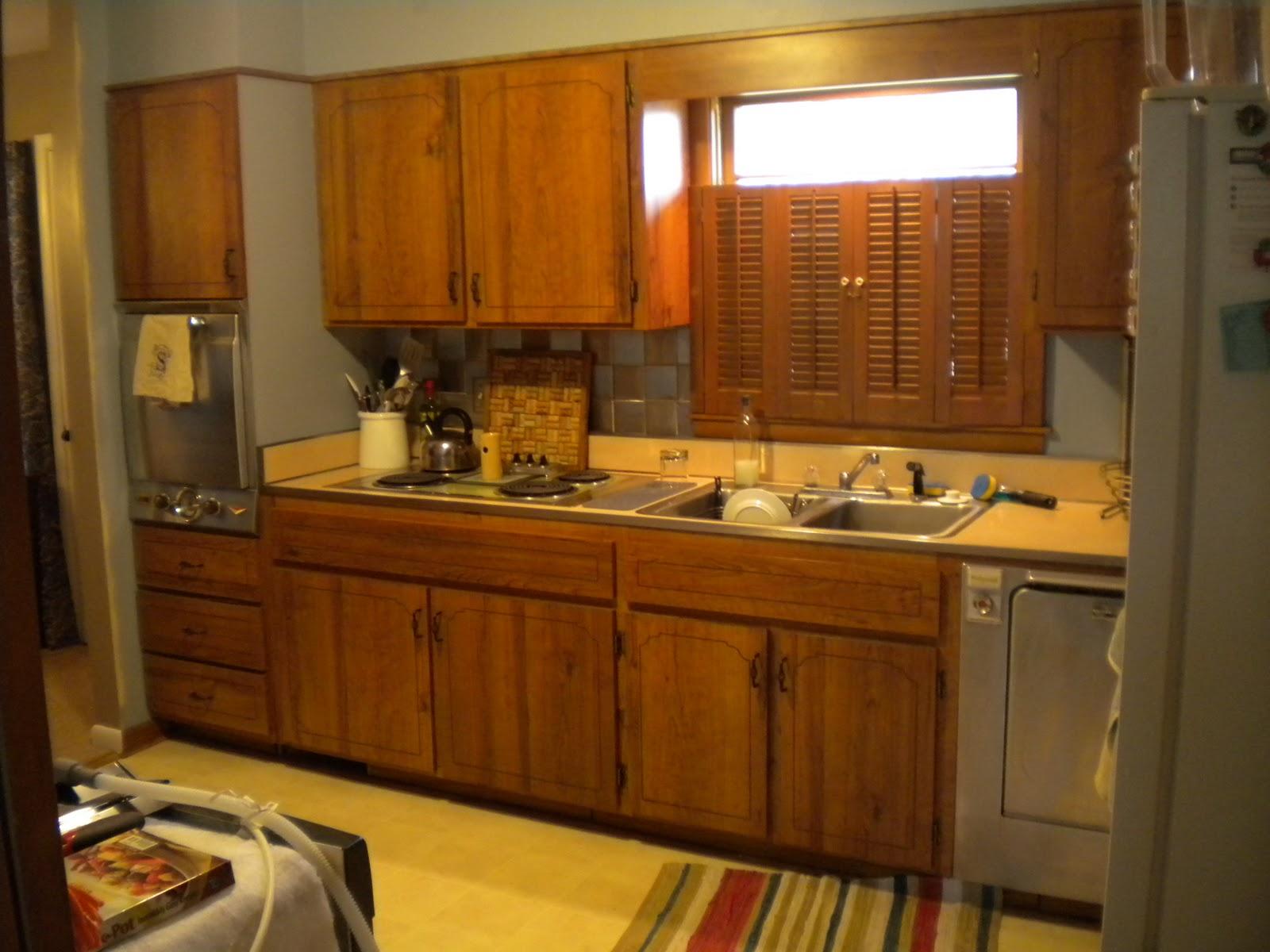 Remodelaholic Kitchen Redo With Dark Gray Cabinets White Subway Tile - Kitchens with dark gray cabinets