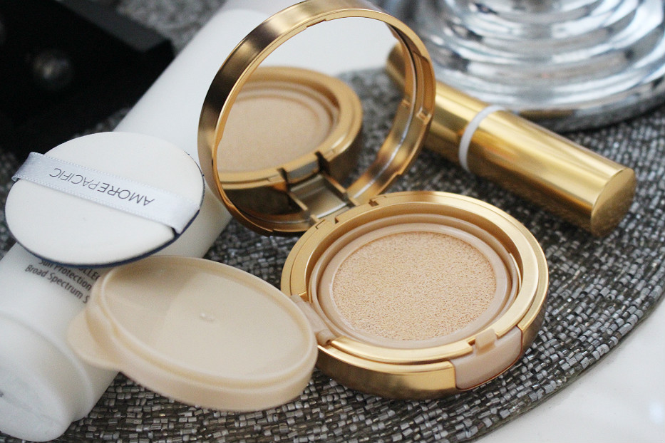 Amore Pacific Resort Collection  Sun Protection Cushion Broad Spectrum SPF 30+ Sunscreen review