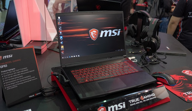Laptop Gaming Terbaik Murah - MSI GF63 8RC