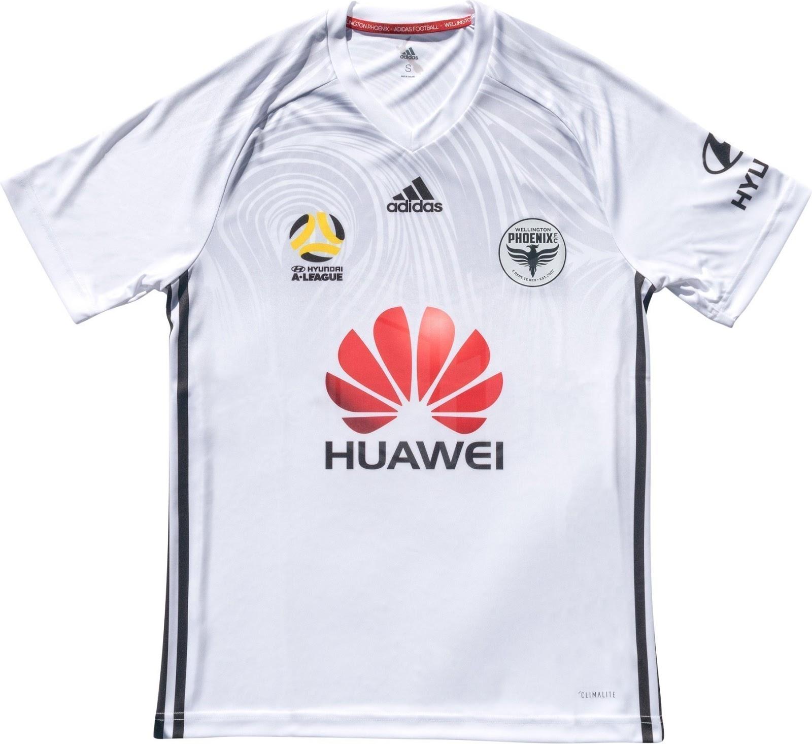 Adidas divulga as novas camisas do Wellington Phoenix - Show de Camisas 2de259755d4c1