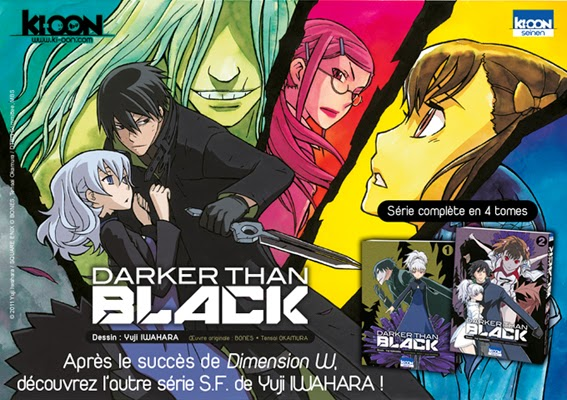 Trailer Manga: Darker than Black