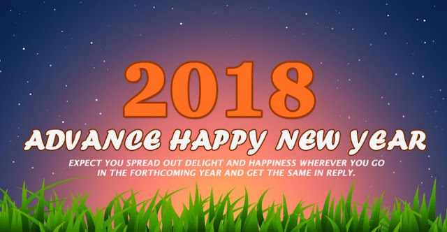 Happy New Year 2018 in Advance Wallpaper Images