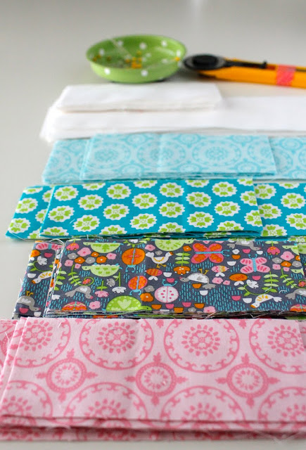 Flutter and Float fabrics from Blend fabrics designed by Ana Davis
