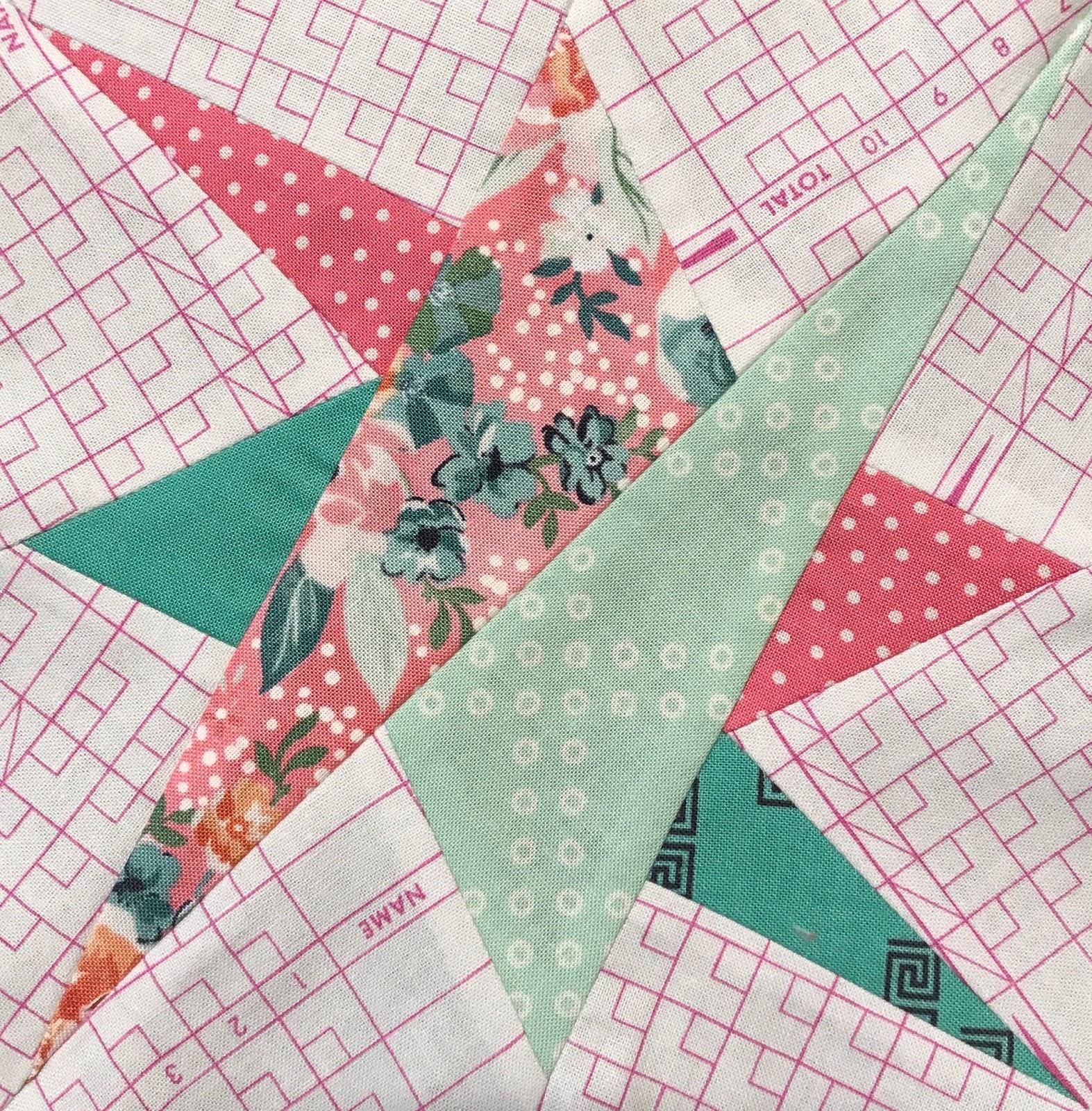 Sew Some Sunshine Delilah Quilt Block 12