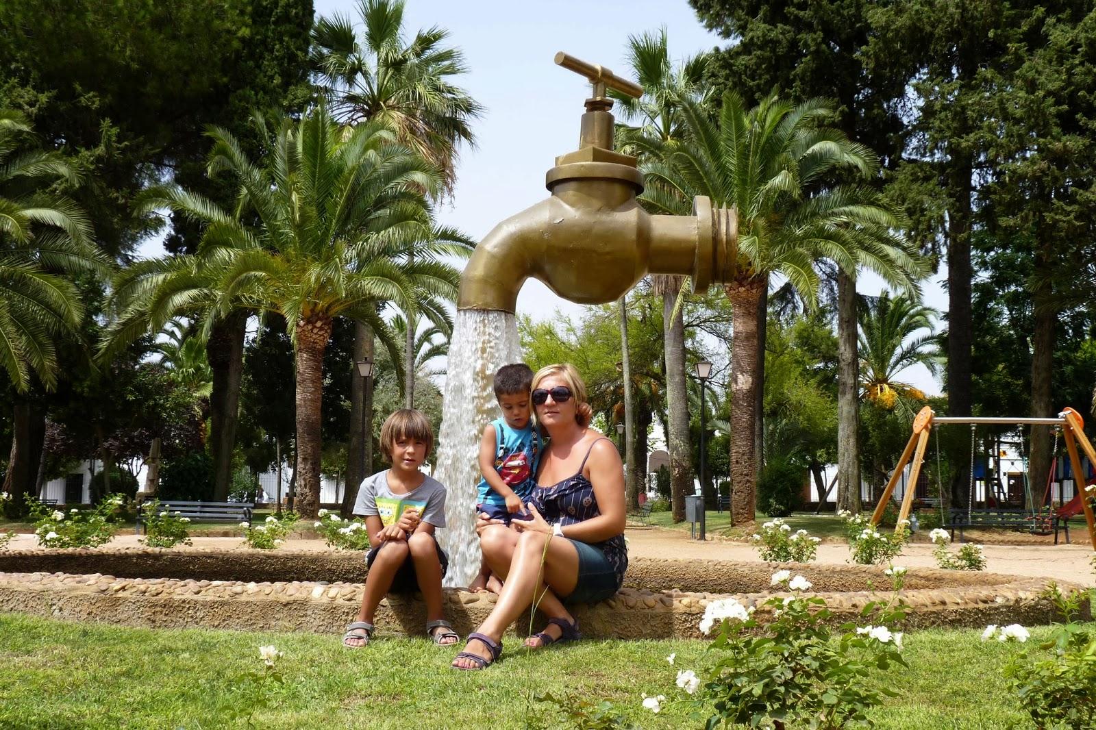 Olivenza, Parque de Pintasiglos.
