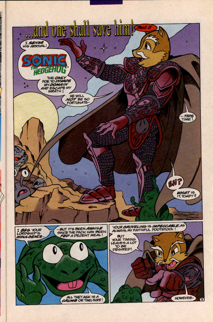 Read online Sonic The Hedgehog comic -  Issue #41 - 10