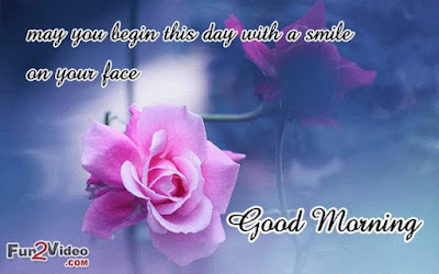 Good Morning Quotes For Friends: may you begin this day with a smile on your face