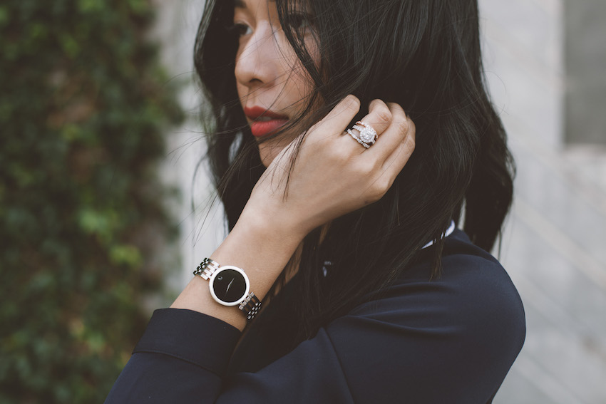 Fall Chic with @Movado | HONEY & SILK