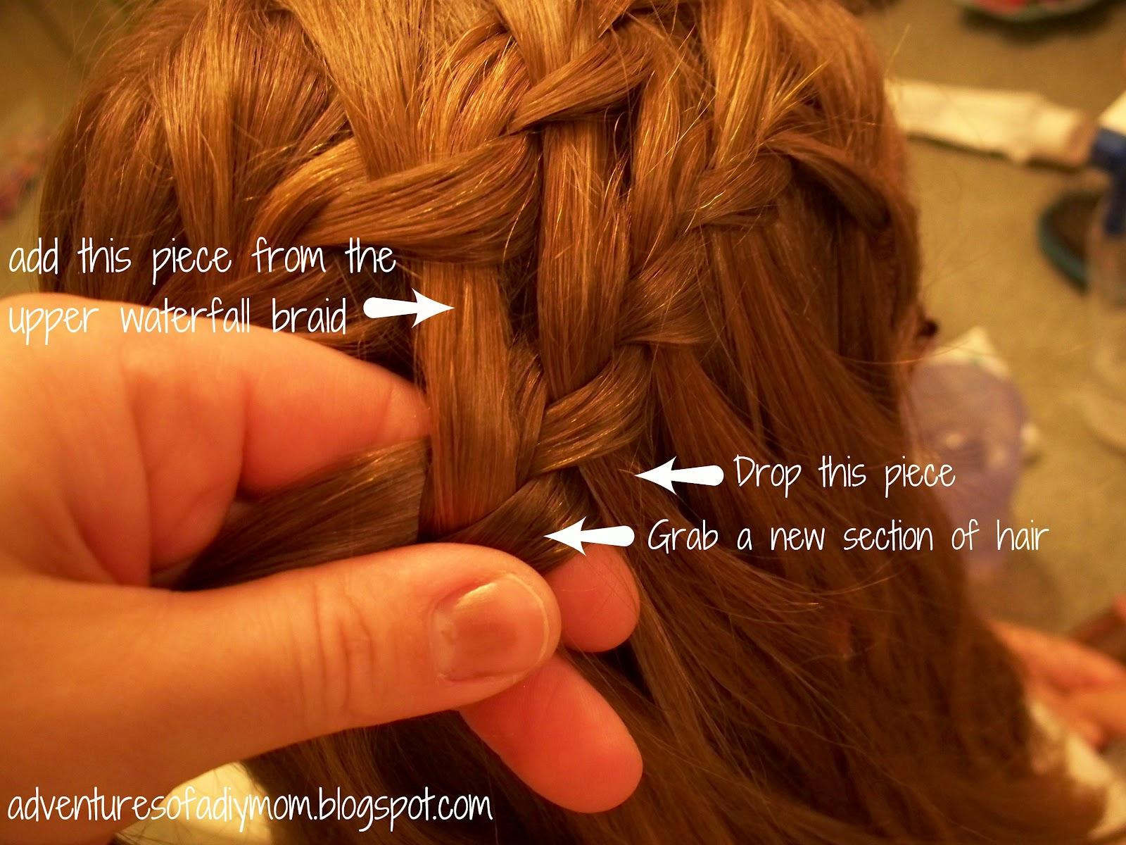 Mini Hair Series Double Waterfall Braid Adventures Of A Diy Mom